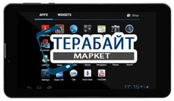 Тачскрин для планшета iRu Pad Master M724G 3G - фото 17085