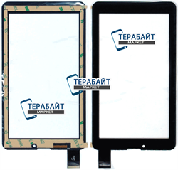 Тачскрин для планшета Oysters T72ha 3G черный - фото 45162