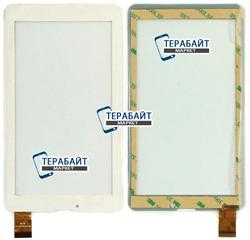 Тачскрин для планшета TeXet TM-7866 3G белый - фото 45808