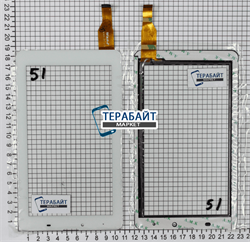 Тачскрин для планшета Supra M726G ЦВЕТ БЕЛЫЙ - фото 49272
