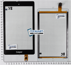 Тачскрин для планшета Chuwi VX8 3G черный - фото 49335