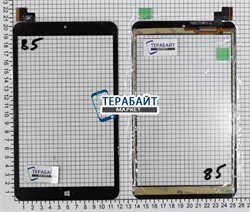Тачскрин для MultiPad VISCONTE QUAD 3GK PMP1080TD3GRD - фото 51289