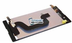 "Дисплей для ""Sony"" Xperia E3 + тачскрин (черный) - фото 53270"