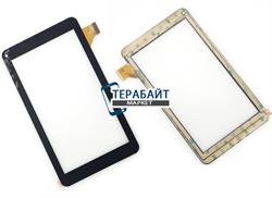 Тачскрин для планшета TurboPad 712 черный - фото 53988