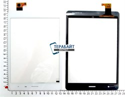 Тачскрин для планшета DNS AirTab MW7851 белый - фото 54280