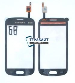 Сенсор (тачскрин) для телефона Samsung Galaxy Trend GT-S7392 черный - фото 55195