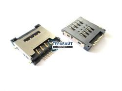 Разъем sim карты для DEXP Ursus 7MV2 3G (сим коннектор) - фото 56193