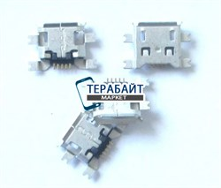 Системный разъем (гнездо) зарядки micro usb 03 для планшетов и телефонов - фото 56386