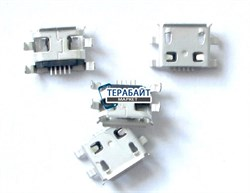 Системный разъем (гнездо) зарядки micro usb 04 для планшетов и телефонов - фото 56398
