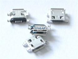 Разъем micro usb Dns AirTab M76r 3G - фото 56399