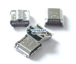 Разъем micro usb для планшета Samsung Galaxy Tab 3 SM-T211 SM-T210 - фото 56514