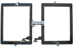 Тачскрин для планшета Ipad 2 черный - фото 56918
