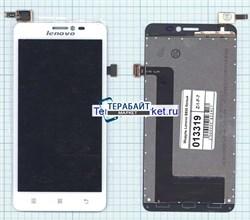 """Дисплей для """"Lenovo"""" S850 + тачскрин (белый) - фото 57261"""