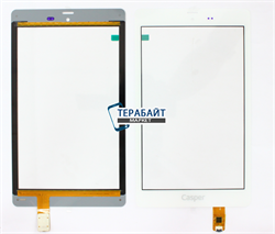 Тачскрин для планшета teXet TM-8048 белый - фото 58268