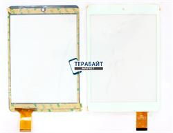 Тачскрин для планшета EXEQ P-842 белый - фото 58367