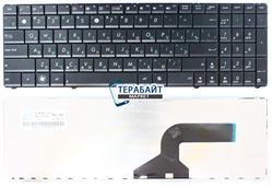 Клавиатура для ноутбука Asus X55a черная без рамки - фото 60400