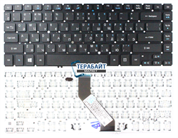 Клавиатура для ноутбука Acer Aspire M5-481PTG без подсветки - фото 61149