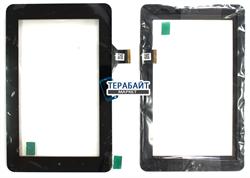 Тачскрин для планшета Prestigio MultiPad PMT3017 черный - фото 72956