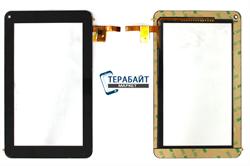 """Тачскрин для планшета Prestigio Multipad 7.0"""" Ultra+ PMP3570C черный - фото 72967"""