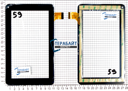 Тачскрин для планшета Exeq P-702