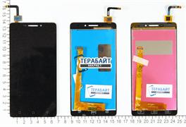 Модуль (экран) для телефона Lenovo Vibe p1m черный