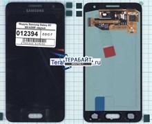 """Дисплей для """"Samsung"""" A300 Galaxy A3 + тачскрин (черный)"""