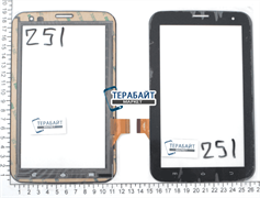 Тачскрин для планшета Treelogic Gravis 73 3G GPS SE