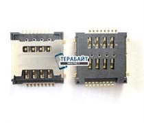 Разъем sim карты для Lenovo A690 (сим коннектор)