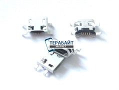 Системный разъем (гнездо) зарядки micro usb 06 для планшетов и телефонов
