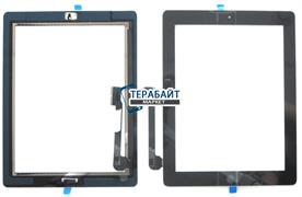 Тачскрин для планшета Ipad 4 черный