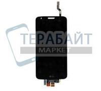 """Дисплей для """"LG"""" Optimus G2 (D802) + тачскрин (черный)"""