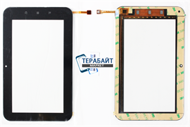 Тачскрин для планшета RoverPad 3W T71D