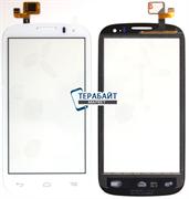 Сенсор тачскрин для Alcatel POP C5 5036D белый