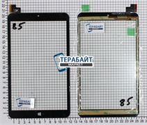 Тачскрин для MultiPad VISCONTE QUAD 3GK PMP1080TD3GBK