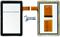 Тачскрин для китайского планшета Samsung N8000 N9000 - фото 40810