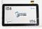 Тачскрин для планшета Explay Discovery черный - фото 49599