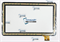 Тачскрин для планшета Oysters T12V 3G черный - фото 50940