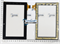 Тачскрин для навигатора Prestigio GeoVision 7777 - фото 51217