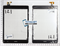 Тачскрин для планшета Oysters T84 черный - фото 51267