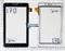 Тачскрин для планшета TurboPad 722 белый - фото 51793