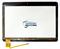 Тачскрин для планшета Ritmix RMD-1028 черный - фото 61454