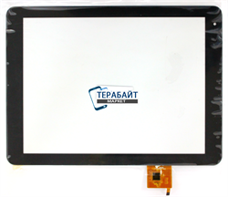 Texet X-pad Style 10 3G TM-9767 ТАЧСКРИН СЕНСОР СТЕКЛО - фото 61410