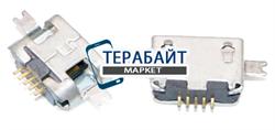 Системный разъем (гнездо) зарядки micro usb 30 для планшетов и телефонов - фото 93876