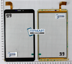 Тачскрин для планшета bb-mobile Techno 8.0 3G TOPOL' (TM859AC) - фото 95766