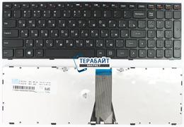 Клавиатура ноутбука Lenovo G50-70 С РАМКОЙ ЧЕРНАЯ