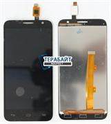 """Дисплей для """"Alcatel"""" OT 6016D Idol 2 Mini + тачскрин (белый)"""