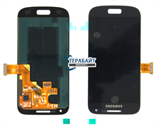 """Дисплей для """"Samsung"""" I9192 Galaxy S4 mini Dual / i9190 Galaxy S4 mini / i9195 (S4 mini LTE) + тачскрин (черный)"""