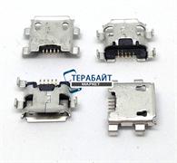 Системный разъем (гнездо) зарядки micro usb 45 для планшетов и телефонов