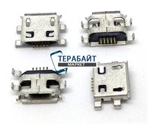 Системный разъем (гнездо) зарядки micro usb 37-1 для планшетов и телефонов