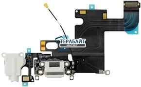 Шлейф с разъемом зарядки для iphone 6 (a1549) белый